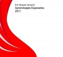 Aprendizajes Esperados 2011