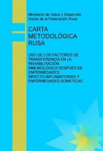 CARTA METODOLÓGICA RUSA
