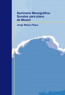 Seminario Monográfico: Sonatas para piano de Mozart