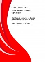 Libro Blank Sheets for Music Composers, autor EDICIONES PIXEL