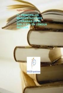 71. PRINCIPALES MANIFESTACIONES LITERARIAS EN EL SIGLO XXI  EN LENGUA INGLESA .