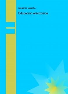 Educación electronica
