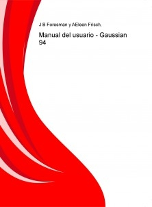 Manual del usuario - Gaussian 94