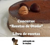 """Concurso """"Recetas de Otoño"""" - Libro de recetas"""