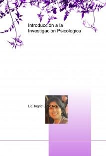 Introducción a la Investigación Psicologica