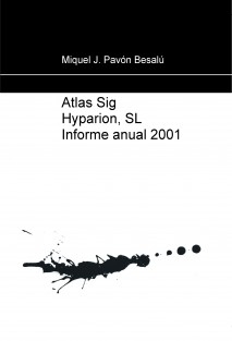 Atlas Sig Hyparion, SL Informe anual 2001