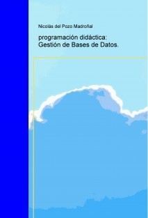 programación didáctica: Gestión de Bases de Datos.