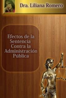 EFECTOS DE LA SENTENCIA CONTRA LA ADMINISTRACIÓN PÚBLICA