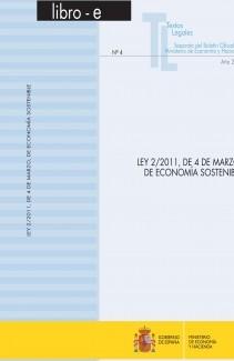 """TEXTOS LEGALES Nº 4/2011 """"LEY 2/2011, DE 4 DE MARZO, DE ECONOMÍA SOSTENIBLE"""
