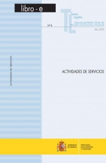 "TEXTOS LEGALES Nº 8/2010 ""ACTIVIDADES DE SERVICIOS"""