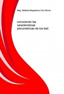 conociendo las caracteristicas psicometricas de los test