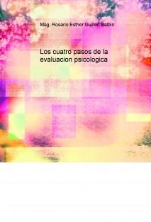 Los cuatro pasos de la evaluacion psicologica