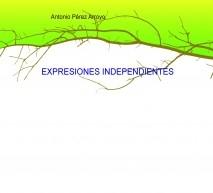 EXPRESIONES INDEPENDIENTES-imágenes en negro