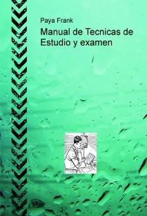 Manual de Tecnicas de Estudio y examen