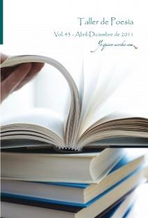 Taller de Poesía - Vol. 43 - año 2011. YoQuieroEscribir.com