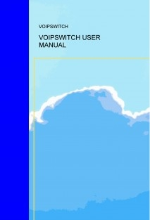 VOIPSWITCH USER MANUAL
