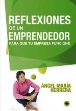 Libro Reflexiones de un emprendedor para que tu proyecto funcione, autor Ángel María Herrera