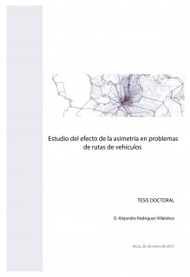 Estudio del efecto de la asimetría en problemas de rutas de vehículos
