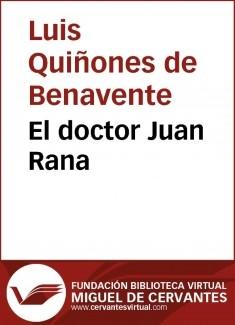 El doctor Juan Rana