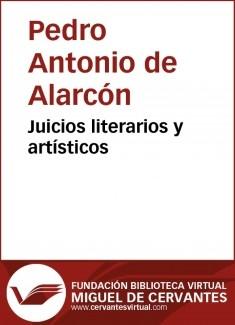 Juicios literarios y artísticos