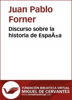 Discurso sobre la historia de España
