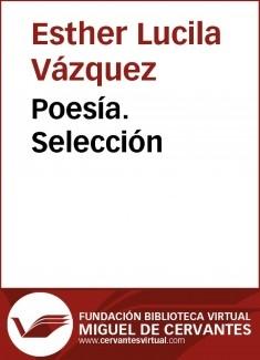 Poesía. Selección
