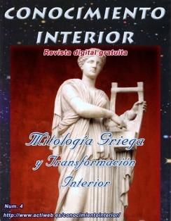 """MITOLOGÍA GRIEGA Y TRANSFORMACIÓN INTERIOR. Revista gratuita """"Conocimiento Interior"""""""