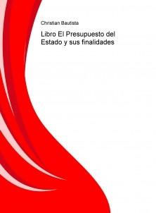 Libro El Presupuesto del Estado y sus finalidades