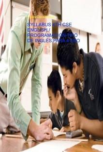 SYLLABUS 4TH CSE ENGLISH / PROGRAMACIÓN TIPO DE INGLÉS PARA 4 ESO