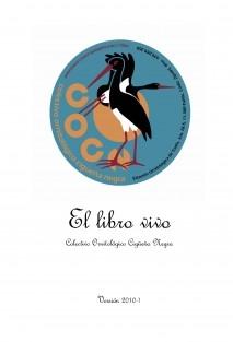 El libro vivo - Voluntariado Ambiental desde el Colectivo Ornitológico Cigüeña Negra