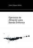 Ejercicios de Afinación para Banda Sinfónica (Full Score)
