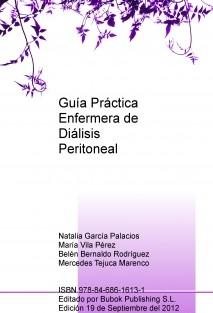 Guía Práctica Enfermera de Diálisis Peritoneal