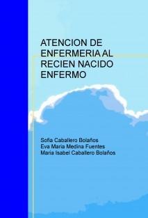 ATENCION DE ENFERMERIA AL RECIEN NACIDO ENFERMO