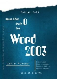 Manual Para Crear libro con Word 2003