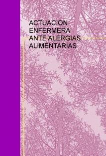 ACTUACION ENFERMERA ANTE ALERGIAS ALIMENTARIAS
