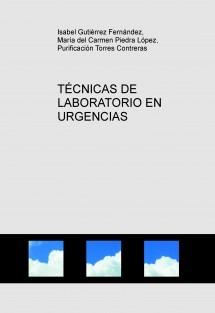TÉCNICAS DE LABORATORIO EN URGENCIAS