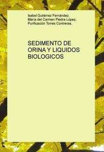 SEDIMENTO DE ORINA Y LIQUIDOS BIOLOGICOS