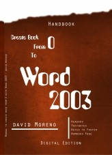 Manual to create book from 0 with Word 2003