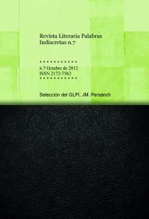 Revista Literaria Palabras Indiscretas n.7