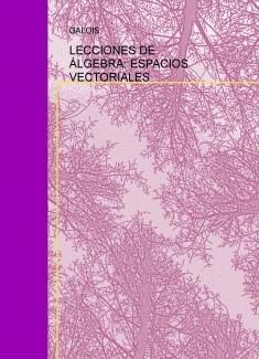 LECCIONES DE ÁLGEBRA: ESPACIOS VECTORIALES
