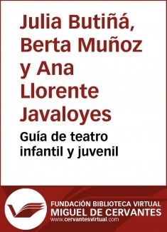 Guía de teatro infantil y juvenil