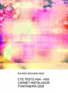 CTE TESTS HS4 - HS5 CARNET INSTALADOR FONTANERÍA 2008