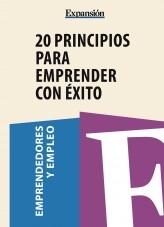 Libro 20 principios para emprender con éxito, autor Expansión