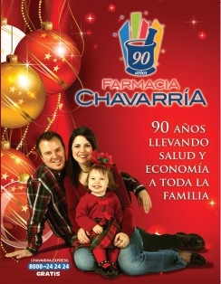 Shopper Navidad 2012  - Farmacia Chavarría