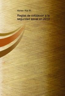 Reglas de cotización a la seguridad social en 2013