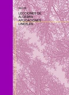 LECCIONES DE ÁLGEBRA: APLICACIONES LINEALES