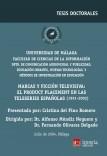 Marcas y Ficción televisiva: el product placement en las teleseries españolas (1991-2002)