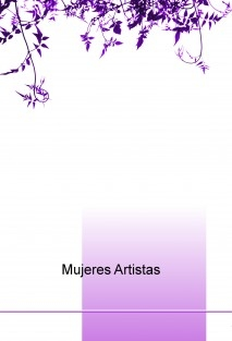 Mujeres Artistas