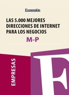 Sectores M-P - Las 5.000 mejores direcciones de internet para los negocios.