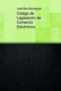 Código de Legislación de Comercio Electrónico